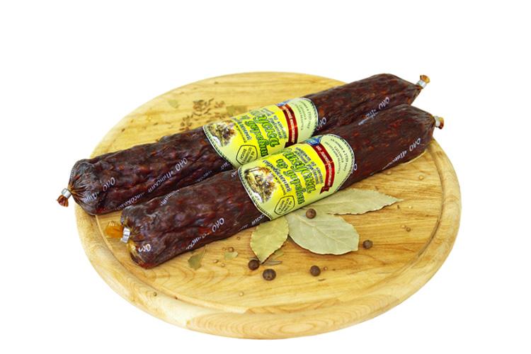 Продукт из конины рубленый сыровяленый «Закуска из деревни»