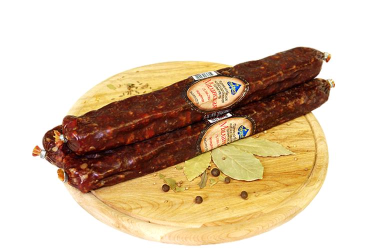 Сыровяленая салями «Миланская»