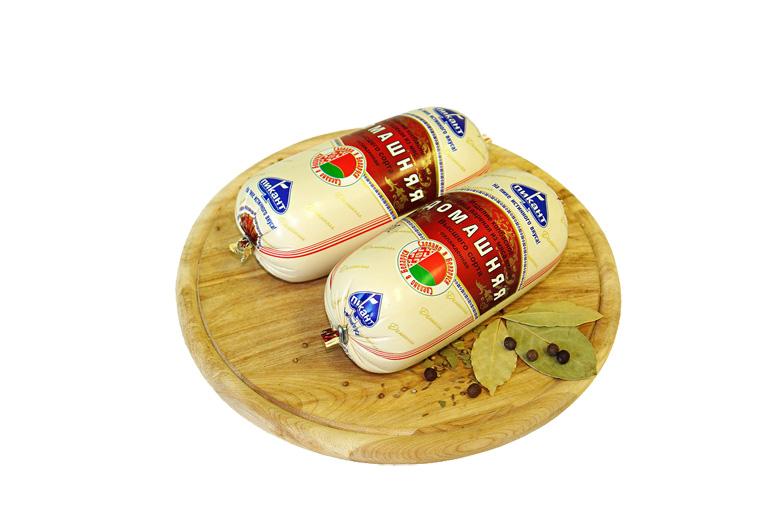 Колбаса вареная из мяса птицы «Домашняя»