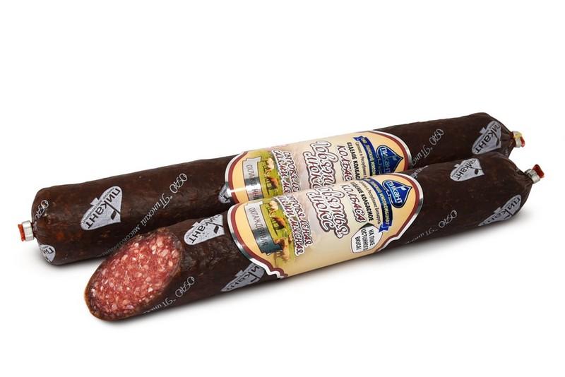 Колбаса сыровяленая салями «Говяжья люкс»