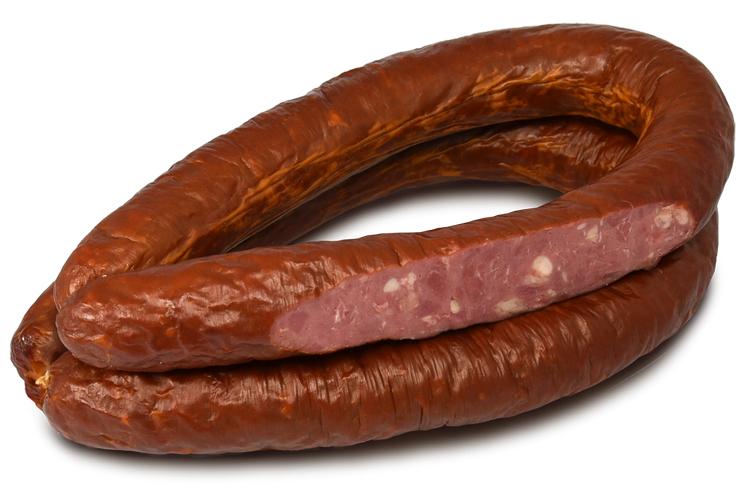 Колбаса полукопченая «Деревенская» из говядины