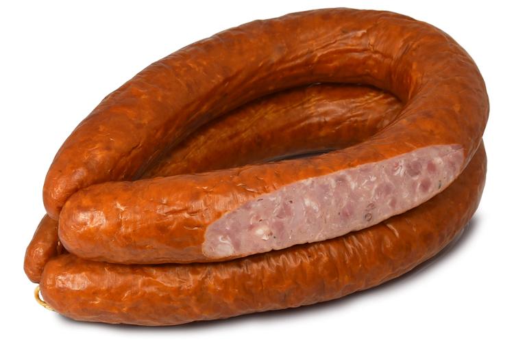 Колбаса полукопченая «Деревенская» из свинины