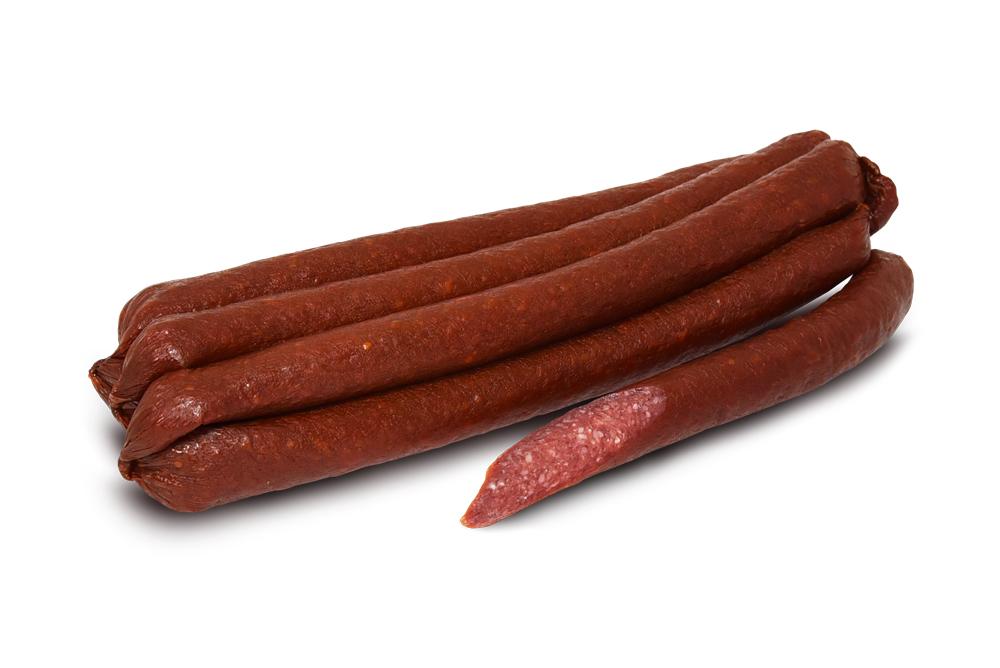 Колбаски сырокопченые «Нормандские говяжьи»