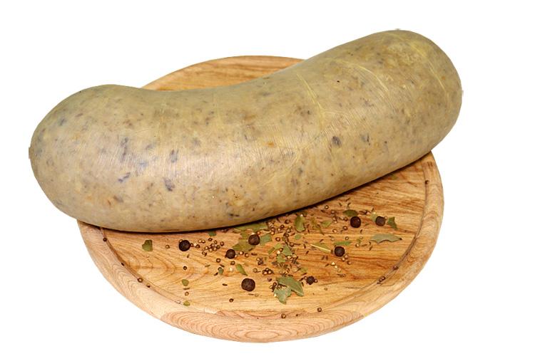 Зельц мясной вареный «Особый с чесночком» в натур. оболочке