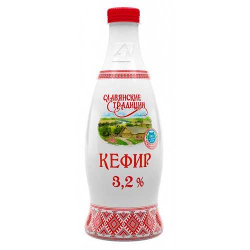 Кефир «Славянские традиции» 3,2% 900 г