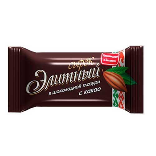 Сырок глазированный «Элитный» 23% 38 г с какао