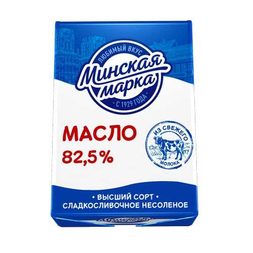 Масло cладкосливочное несоленое 82,5% 180 г