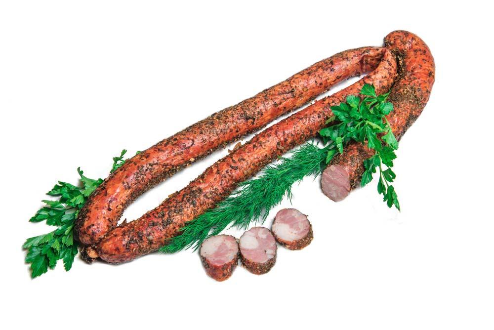 Колбаса полукопченая «Свиная»
