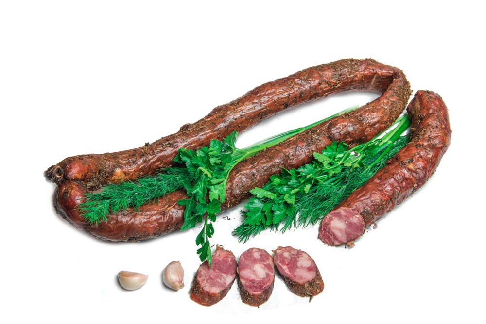 Колбаса полукопченая «Говяжья»