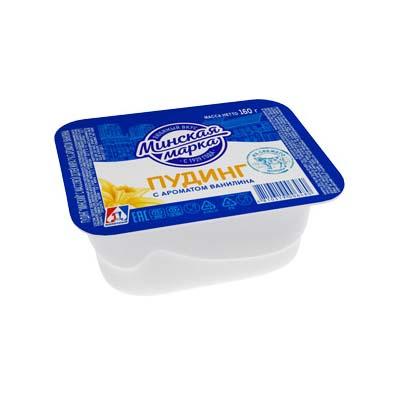 Пудинг «Минский» 7% 160 г с ароматом ванилина