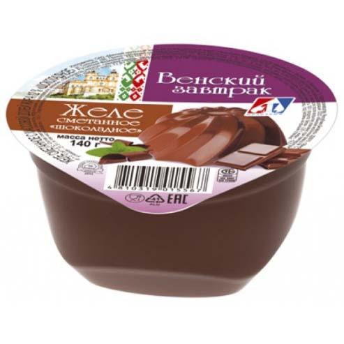 Желе сметанное 12% «Шоколадное»