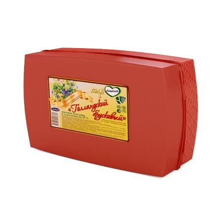 Сыр «Голландский брусковый» 45% (Любань)