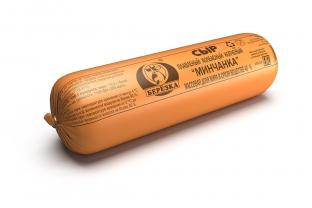 Сыр плавленый колбасный копченый «Минчанка» 40%