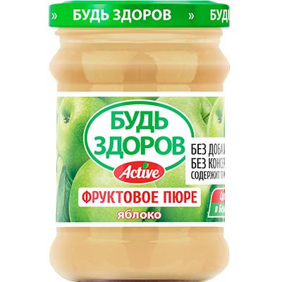 Пюре «Будь здоров» яблоко