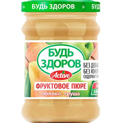 Пюре «Будь здоров» яблоко-груша