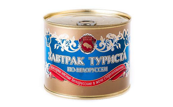 Завтрак туриста по-белорусски