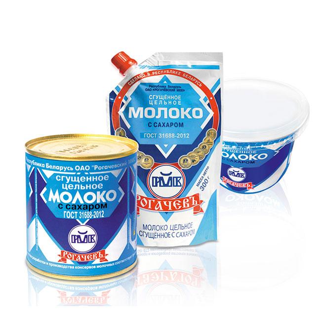 Консервы молочные (сгущенка)