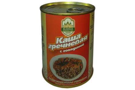 Каша гречневая с говядиной Калинковичи