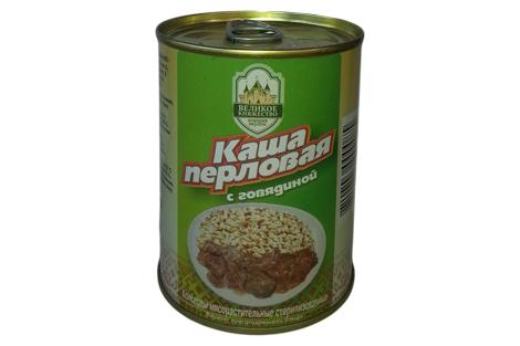 Каша перловая с говядиной Калинковичи