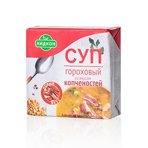 Суп гороховый со вкусом копченостей
